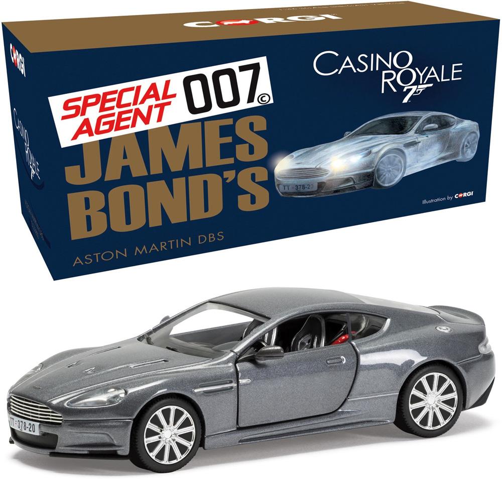Corgi 1 36 James Bond Casino Royale Aston Martin Dbs 007 Cc03803