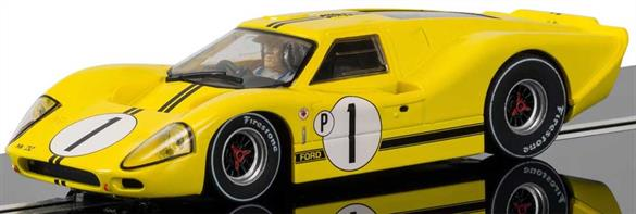 Scalextric 1/32 Ford GT Mk4, 1967 Sebring Winner C3859