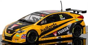 Scalextric 1/32 BTCC Honda Civic Type R, Matt Neal C3860