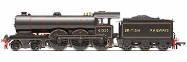 Hornby Railways R3545 OO Gauge BR 61556 ex-LNER Holden Class B12 4-6-0 BR Lined Black Lettered British RailwaysDimensions - Length 235mm.A highly detailed model of the GER/LNER Holden designed B12 class 4-6-0 locomotives.DCC Ready. 8-pin decoder required for DCC operation.
