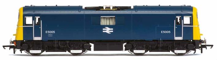 Hornby Railways R3569 OO Gauge BR E5005 Class 71 Southern Region Bo-Bo Electric Locomotive BR Blue LiveryUsing the revolutionary 3D laser scanning system, LIDAR, to accurately map the actual locomotive has allowed Hornby to recreate to a level of detail far more accurate than traditional mapping methods alone. Reference to historical photographs, plans and reference material ensures that any differences from the scanned engine, such as modifications, were taken into account to produce the final model design.Features of the DCC Ready Hornby model include:- 5 pole skew wound motor with double flywheel dual bogie drive. Working pantograph. Sprung buffers . Removable front valance panel. Accurate running light modes. Changeable headcodes. Cab lighting