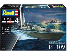 Revell 1/72 Patrol Torpedo Boat PT-109 Kit 05147Number of Parts 146Glue and paints are required