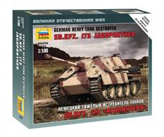Zvezda 6183 1/100 Scale German Sd.Kfz.173 Jadgpanther Self-Propelled Gun