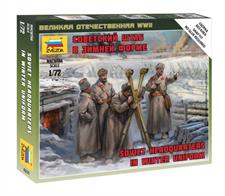 Zvezda 6231 1/72 Scale Soviet HQ in Winter