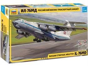 Zvezda 7011 1/144th Russian IL-76MD Strategic Airliner KitNumber of Parts 207   Length 320mm