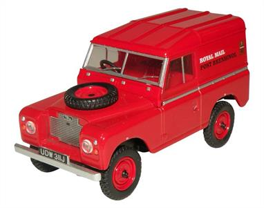 Oxford Diecast 1/43 Land Rover Series IIA SWB Hard Top Royal Mail 43LR2AS001