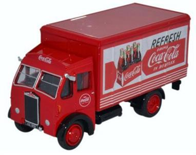 Oxford Diecast 1/76 Albion Box Van Coca Cola 76ALB001CCAlbion Box Van Coca Cola