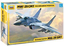 Zvezda 7309 1/72nd Russian MIG-29SMT Fighter KitNumber of Parts 280 Length 240mm