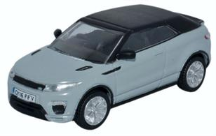 Oxford Diecast 1/76 Range Rover Evoque Convertible Baltoro Ice 76RREC002