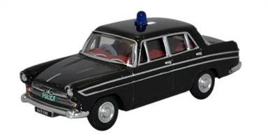 Oxford Diecast 1/76 Austin Cambridge Farina Hertfordshire Police (Black) 76ACF005