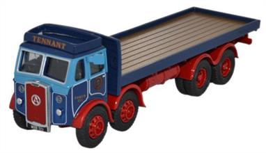 Oxford Diecast 1/76 Atkinson 8 Wheel Flatbed Lorry Tennant Transport 76ATKL003