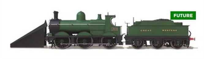 Oxford Rail OO GWR Dean Goods 2534 With Snow Plough OR76DG005