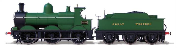 Oxford Rail GOR76DG010 1/76th OO Gauge GWR 2534 Dean Goods 0-6-0 GWR Green