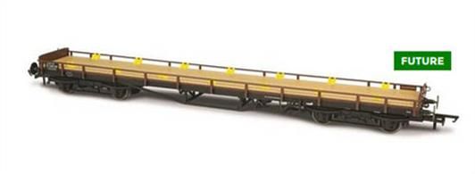 Oxford Rail OR76CAR001B OO Gauge BR Bogie Carflat ex-LMS Chassis Bauxite FinishBR Carflat wagons were built between 1959 and 1975. Our version Diag 1/088 represents 340 wagons built to Diagram 1/088 specifically on ex-LMS 60ft chassis with 9ft bogies.The Carflats to this particular diagram were built from 1964 to 1968. Finished in BR Bauxite with Black under frames, this version would have entered use in 1964 after conversion at Derby Works. Without TOPS code. Our model will feature fine detail, high quality finish and NEM coupling pockets.