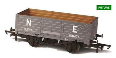 Oxford Rail OR76MW6001C OO Gauge LNER 6 Plank Mineral Wagon 150475
