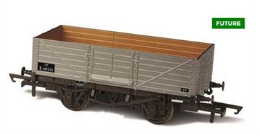 Oxford Rail OR76MW6002C OO Gauge BR 6 Plank Mineral Wagon No.E147232