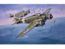Airfix A04007V 1/72nd Savoia Marchetti SM79 Aircraft KitNumber of Parts 102    Length 229mm     Width 33mmDUE MAR-20