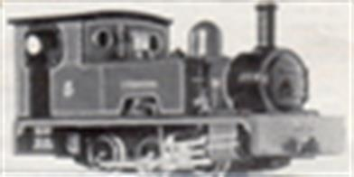 This whitemetal body kit based closely on the Snailbeach Railway Bagnall 0-6-0 locomotive Dennis.Designed to fit on the Graham Farish (Poole) 1109 general purpose 0-6-0 chassis. A number of more recent chassis by Bachmann and Dapol may be suitable alternatives, but modifications will be needed to fit the chassis/kit combination.Chassis not included.