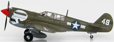 Hobby Master 1/72 Curtiss P-40N Warhawk White 49 89th FS, 80th FG, Assam Valley, Naggaghuli Base, 1944  HA5503