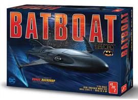 AMT/ERTL 1/25 Batboat from the Film Batman AMT1025 Glue and paints are required to assemble and complete the model (not included)