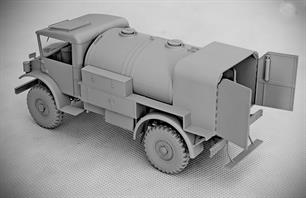 IBG Models 1/35 Chevrolet C60S No.12/13 Cab Petrol Tanker with No.12/13 Cab -  Kit 35036Finely moulded components are a feature of the kit together with some excellent brass etchings. Comprehensive step by step instructions are also included.Glue and paints are required