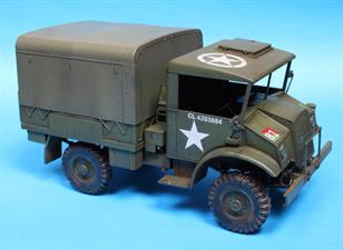 IBG Models 35037 1/35 Scale Chevrolet C15A No.12/13 Cab Personnel LorryThis comprehensive kit includes photo etched items for detailing and clear easy to follow assembly instructions.Glue and paints are required