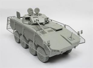 IBG Models 1/35 KTO Rosomak - Polish Armoured Personnel Carrier -  The Green Devil - 35032Features of the kit include a one piece lower hull and turret with a wealth of fine detail. Some components are in clear styrene abd others in etched brass. Decals and comprehensive instructions are included.Glue and paints are required