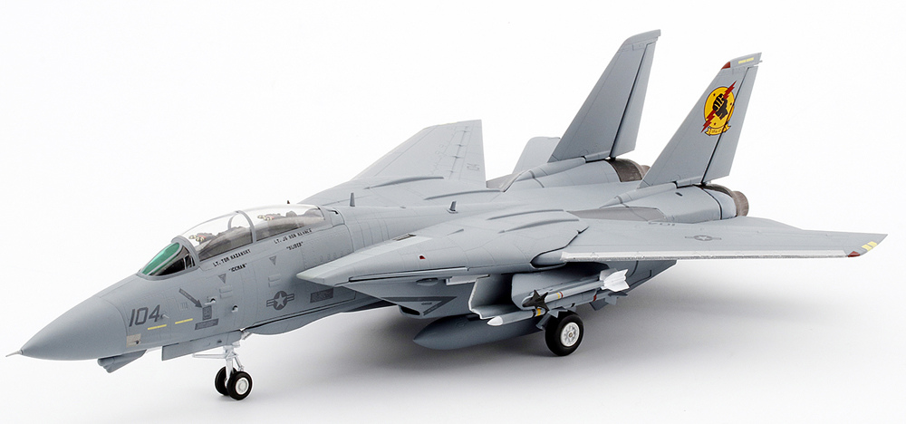 TSM Models Top Gun Film 1/72nd scale Northrop Grumman F-14A VF-213 Top Gun Movie flown by Iceman & Slider<BR>