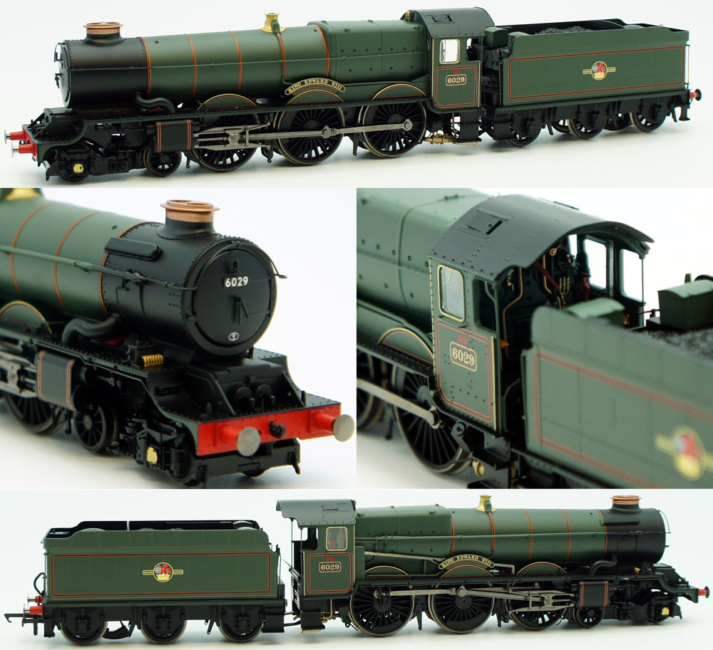 Hornby BR 6029 King Edward VIII King Class 4-6-0 ...