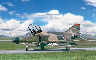 Italeri 1/48 F-4E Phantom II Aircraft Kit 2770Glue and paints are required