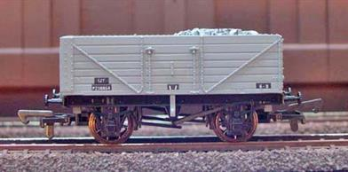 BR 7 Plank Open Wagon Grey Livery