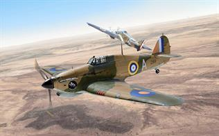 Italeri 1/48 RAF Hurricane Mk1 Tropical Aircraft Kit 2768