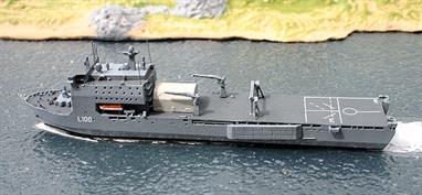 An impressive Albatros model of the landing ship that was built by Swan Hunter on the Tyne and began life as RFA Largs Bay, being purchased in 2011 from the Royal Navy for the Royal Australian Navy and recommissioned in December of that year.Alk611 is part of Albatros' new range of Australian warship models.