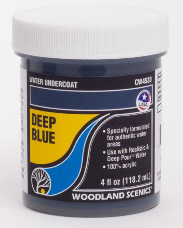 <P><B>Woodland Scenics CW4530 Water Undercoat - Deep Blue</B></P>