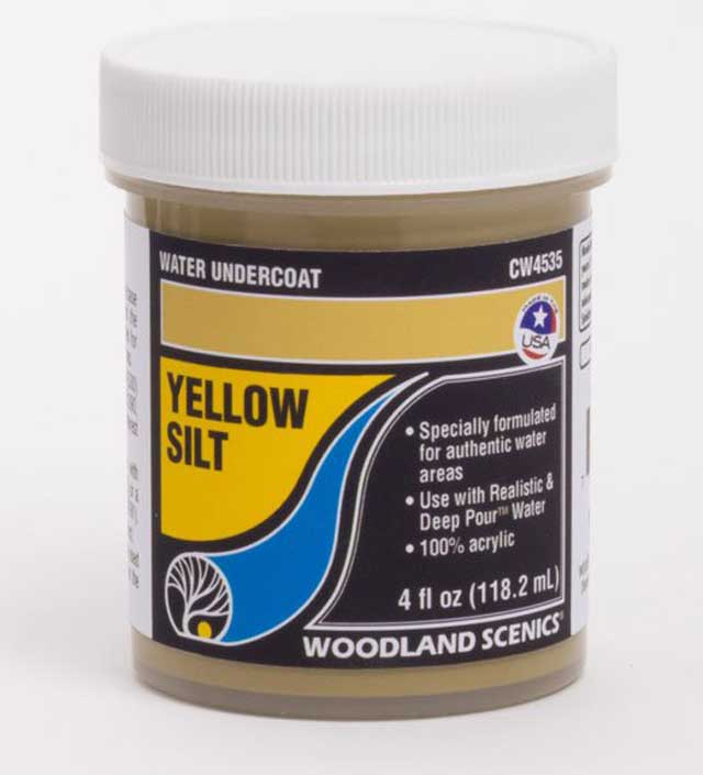 <P><B>Woodland Scenics CW4535 Water Undercoat - Yellow Silt</B></P>