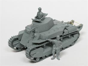 IBG Models 1/72 Type 89 Japanese Medium Tank KOU Kit 72040In addition to the plastic mouldings the kit includes some photo etched components. Decals and comprehensive instructions are also included.Glue and paints are required to assemble and complete the model (not included)