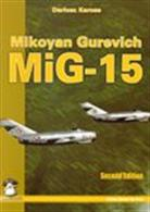 Mikoyan Gurevich Mig-15A modeller's reference covering all aspects of the MiG-15 jet from production to service use with line diagrams and photographs to highlight the many changes made to Russia's first mass-produced jet fighter.Author: Dariusz Karnas.Publisher: MMP Books.Paperback. 152pp. 16cm by 23cm.