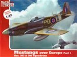 Mustangs Over Europe Part 1 (1:32 Scale)A modellers archive of photographs, specification, colour profiles and complete with a sheet of decals.Publisher: Kagero.Paperback. 110pp. 27cm by 20cm.