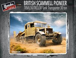 Thunder Models 35200 1/35 Scale Scammell Pioneer TRMU30/TRCU 30 Tank Transporter 30 Ton Tractor Unit.