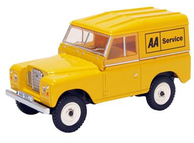 Oxford Diecast 1/43 Land Rover Series III SWB Hard Top AA 43LR3S002