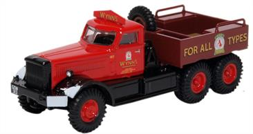 Oxford Diecast 1/76 Diamond T Ballast Wynns 76DT006