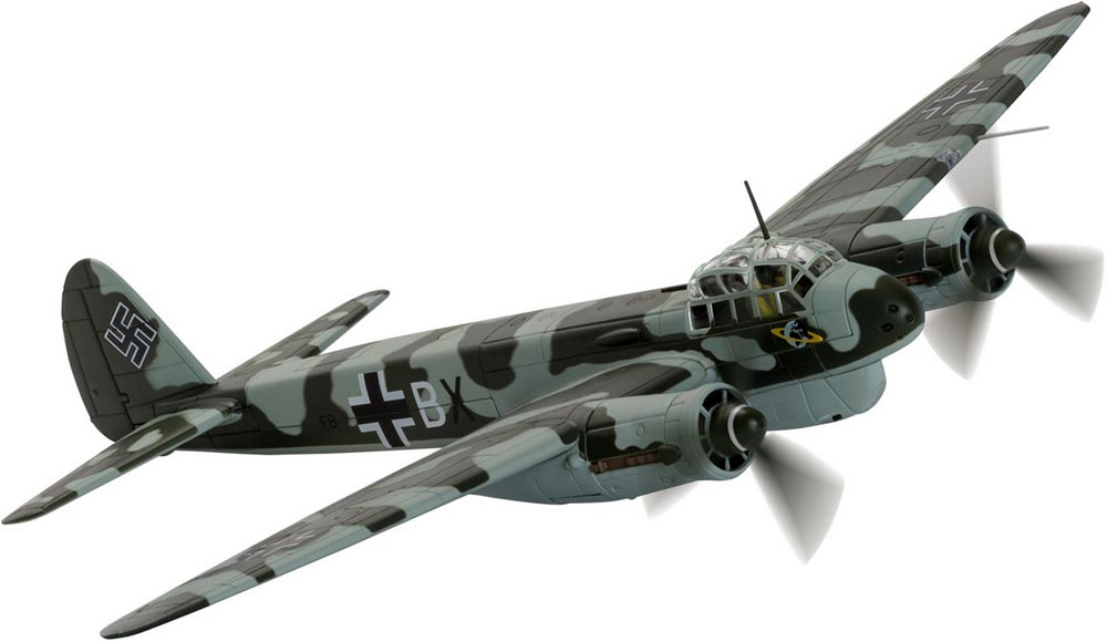 Corgi AA36711 1/72 Scale Junkers Ju-88C-6 F8+BX, 13./KG40, Lorient, France 1943 Battle over the Bay of  Biscay<br>Wingspan 277mm