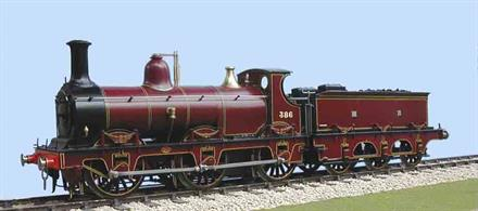 Slaters Plastikard O Gauge 7L010 MR/LMS Straight Framed Kirtley 0-6-0 Goods with 2000 Gallon Tender Brass Loco KitThis kit includes wheels and Spur Drive Gearbox and Motor 7L001