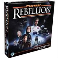 New leaders. New missions. New tactic cards that lead to more fully cinematic combats… Rise of the Empire is an expansion for Star Wars™: Rebellion inspired largely by Rogue One. And just as the movie provided new insight into the Galactic Civil War presented in the original Star Wars trilogy, Rise of the Empire adds new depth and story to your Rebellion game experience.