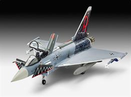 Revell 1/72 Eurofighter Typhoon Single Seater Model Set 63952Length 222mm	Number of Parts 85		Wingspan 155mmGlue and paints are required to assemble and complete the model (not included)
