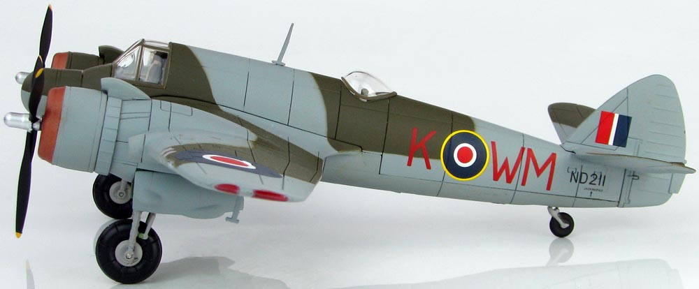 Hobby Master 1/72 Bristol Beaufighter Mk.VIF ND 211, Red WM-K, No. 68 Sqn., RAF, Fairwood Common Airfield, May 1944 HA2317<BR>