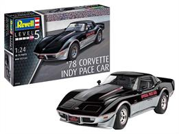 Revell 07646 1/24th 1978 Corvette C3 Indy Pace Car