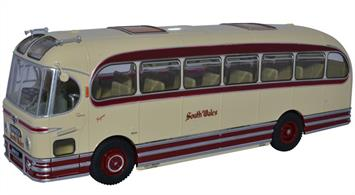 Oxford Diecast 1/43 Weymann Fanfare South Wales Bus Model Oxford 25 years Special Box 43WFA001