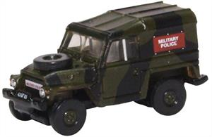 Oxford Diecast 1/148 Land Rover Lightweight Military Police NLRL002