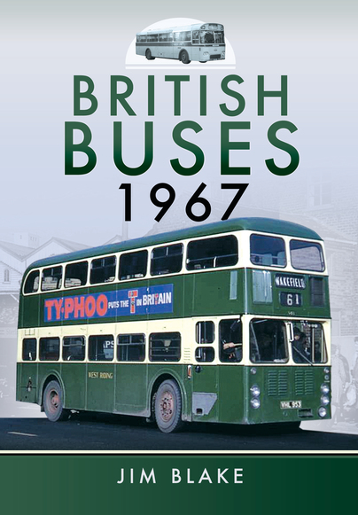 Pen & Sword British Buses 1967 9781473827172<br>A turning point in the history of the bus industry in Britain. After 1967 the network was never the same again, with the formation of the National Bus Company in 1968.<br>Author: Jim Blake.<br>Publisher: Pen & Sword.<br>Hardback. 158pp. 22cm by 29cm.